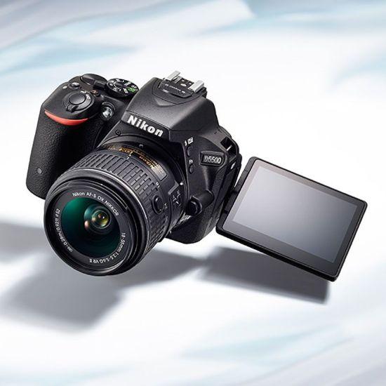 Nikon D5500 DSLR resmi